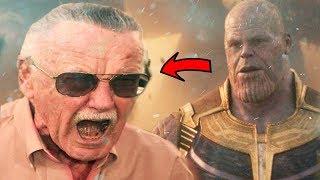 ¿Este es el Personaje Secreto de Stan lee en Infinitywar? La Teoria mas Loca de Marvel!!!