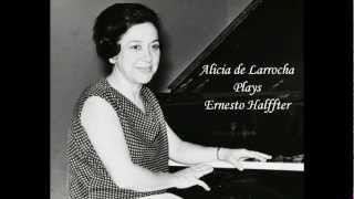 Alicia de Larrocha plays Halffter - Danza de la Pastora