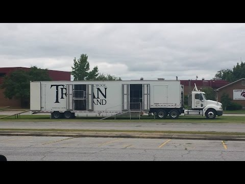 Custom Marching Band Semi Trailer- Clubhouse Trailer Company
