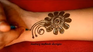Easy Arabic Mehndi Designs For Hands*Latest Mehndi Henna Designs For Hands