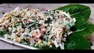 """Новый салат с крабовыми палочками  """" Нежность"""" - Ани Кухня!"""