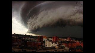 ШОК! шторм в москве 30.06.2017