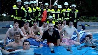 Cold Water Challenge 2014 Feuerwehr Weilerbach