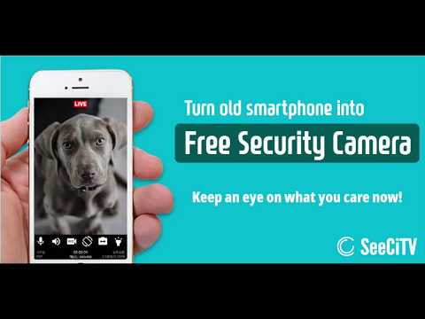 Make your old phone as Home Security Camera - Apps on