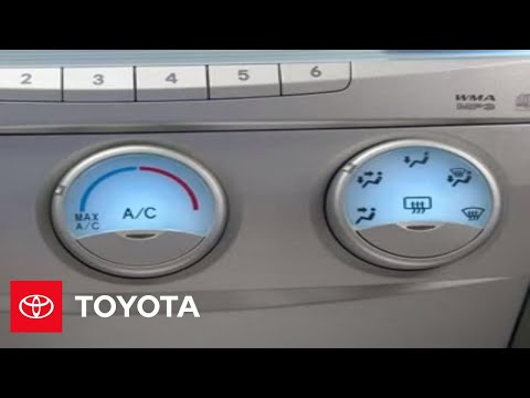 2007 - 2009 Camry How-To: Heated Mirrors | Toyota