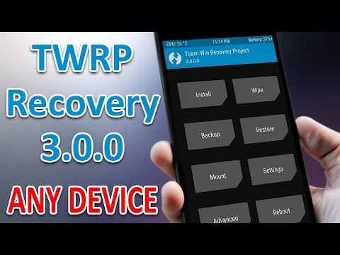 How To Install TWRP Recovery on Any Android Phone (No Pc)