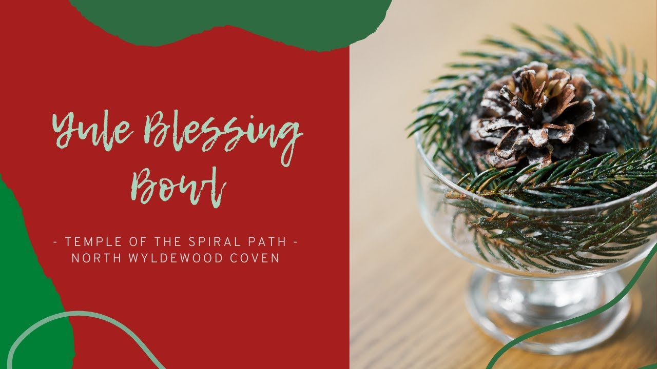 TSP's 12 Days of Yule 2020 - DAY 1 - Yule Blessing Bowl!
