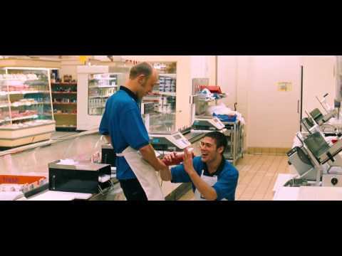 Cashback(2006) supermarket sausage scene