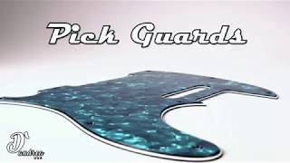 Guitar Pick Guards from D'Andrea USA