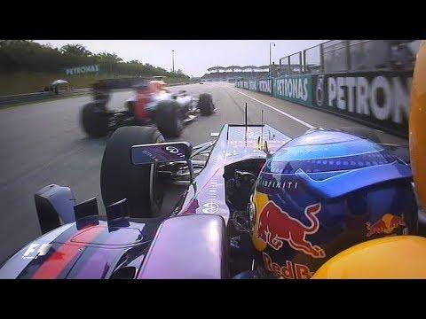 Vettel And Webber's