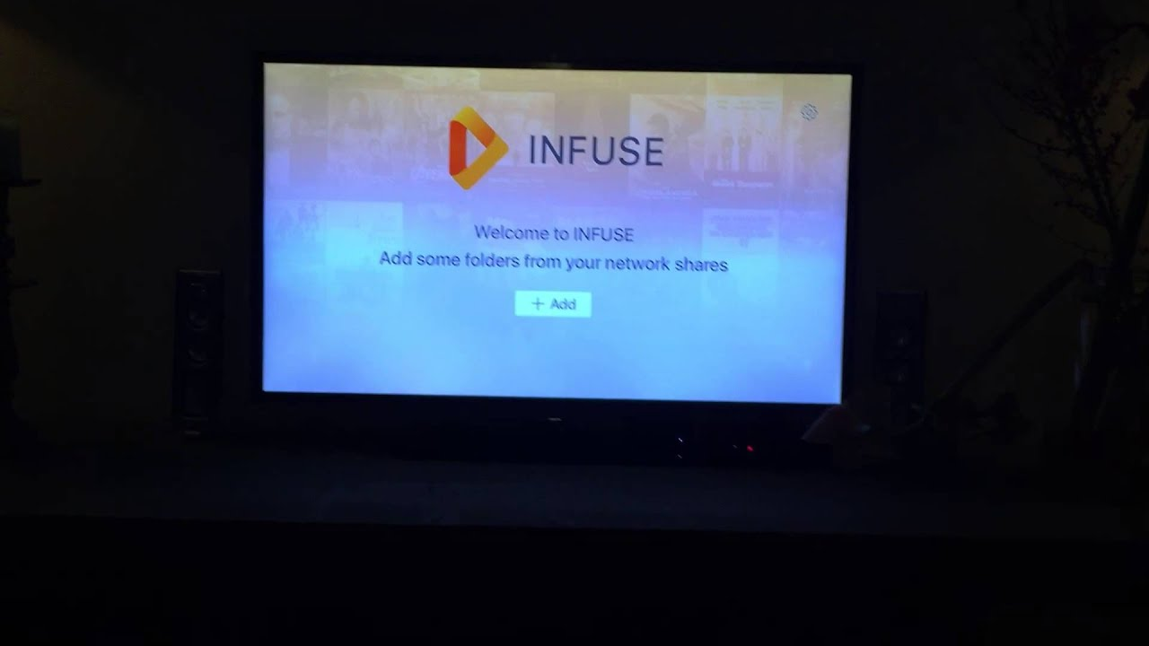 Infuse Pro 4 on Apple TV 4 - add a NAS drive