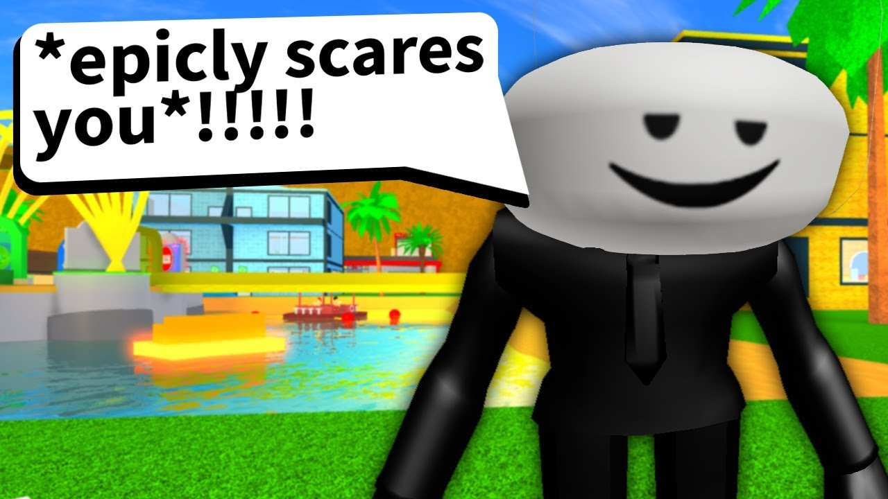 Roblox Game Tries To Be Scary But It S Really Bad Youtube