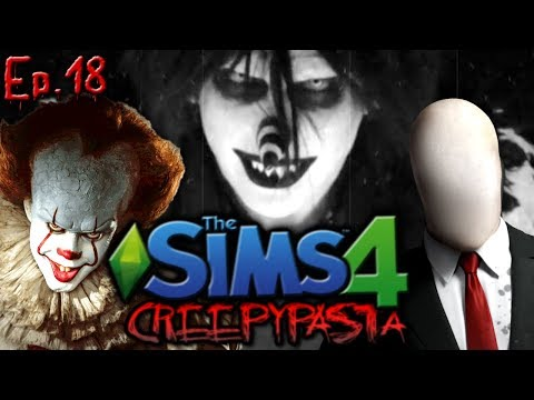 Slender Man & Pennywise MERGE  | The Sims 4: Creepypasta Reboot - Ep. 18