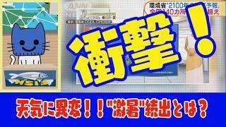 【マスクにゃんニュース】81年後の天気予報!?