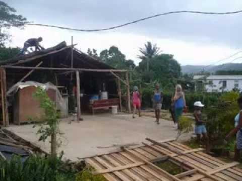 Ciclon Sady a su paso por Sagua de Tanamo
