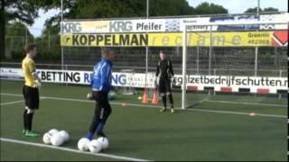 Keeperstraining Selectie C-jeugd S V  Grol