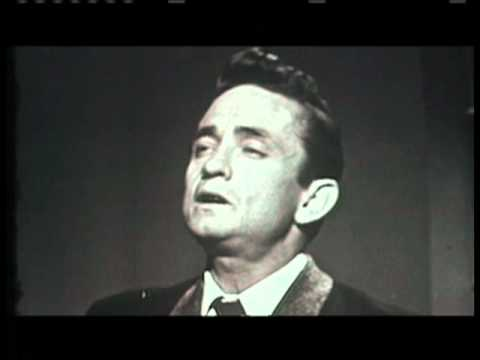 Rare Footage of Johnny Cash Singing Gospel