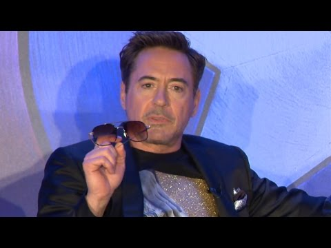 Captain America Civil War 'Team Iron Man' Press Conference