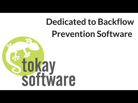 Tokay Software Dedicated to Backflow Software