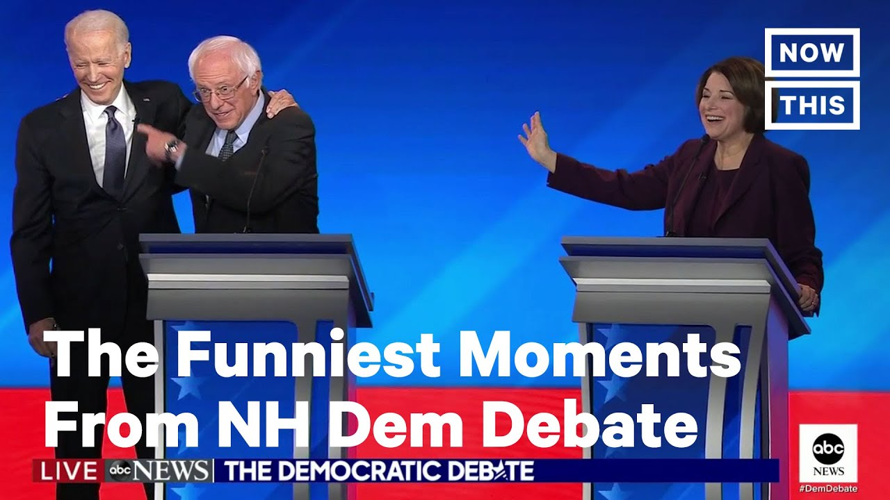 Here Are The Funniest Moments From New Hampshire Democratic Debate Nowthis Youtube