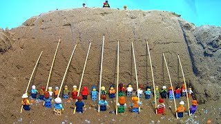 CAN 30 LEGO MINIFIGURES STOP A LEGO DAM BREACH ? thumbnail