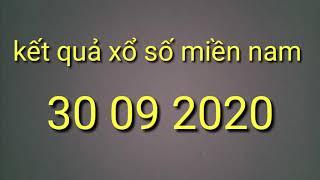 Kqxsmn 30 09 2020/kqxs Miền Nam Hôm Nay