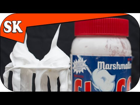 How to Make FLUFF - Italian Meringue, Marshmallow Creme