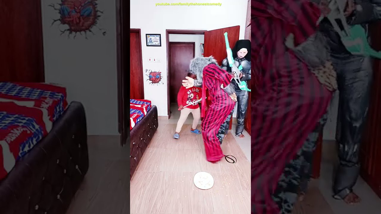 Funny Prank try not to laugh DUDE PERFECT NERF BOW MONSTER Scary GHOST Funny werewolf TikTok comedy