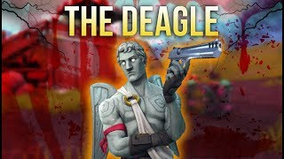 The Deagle is MASTERPIECE! (Fortnite Battle Royale Montage)