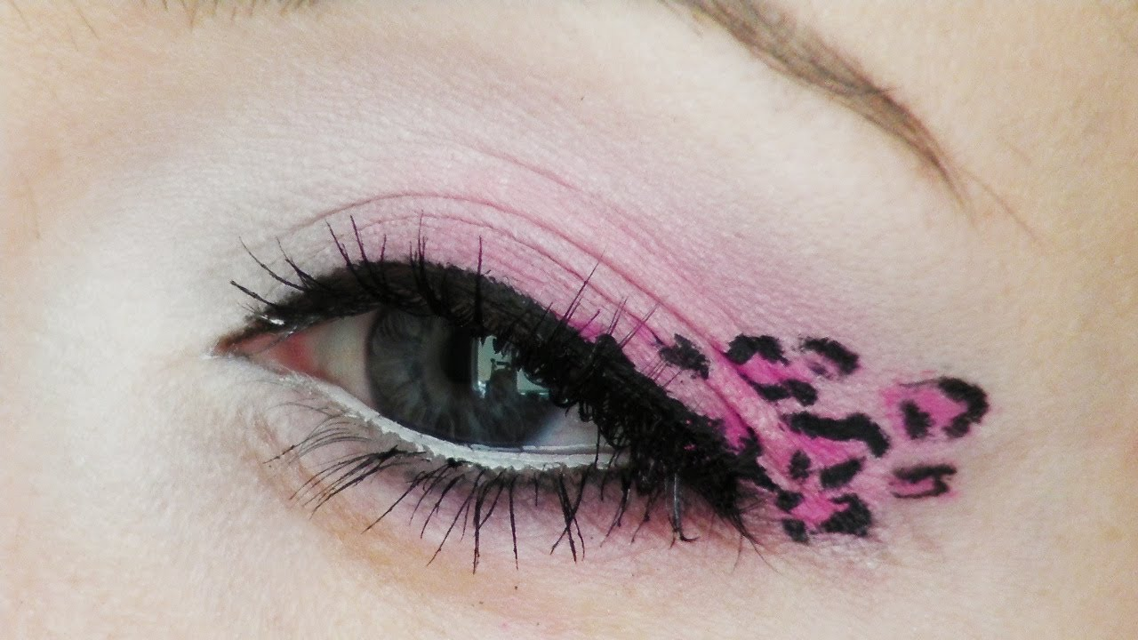 Pink Leopard Print Makeup Tutorial Youtube