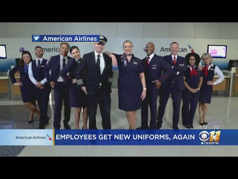 American Airlines Employees Get New Uniforms Again