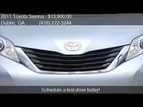 2011 Toyota Sienna LE For Sale In Dublin, GA 31021 At Pitts