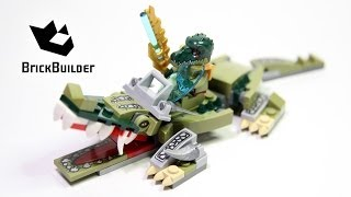 Kijk Lego Chima 70126 Crocodile Legend Beast filmpje