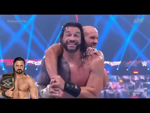 Download Roman Reigns Vs Cesaro - Wrestlemania Backlash Highlights