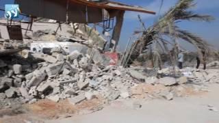 استهداف مشفى أطباء بلا حدود في مدينة معرة النعمان بريف ادلب  في 15 شباط 2016