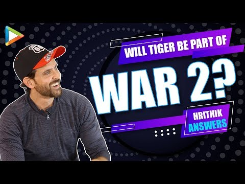 Will Tiger Shroff be Part of WAR 2 ? Hrithik Roshan RESPONDS | Krrish 4 | Lakshya