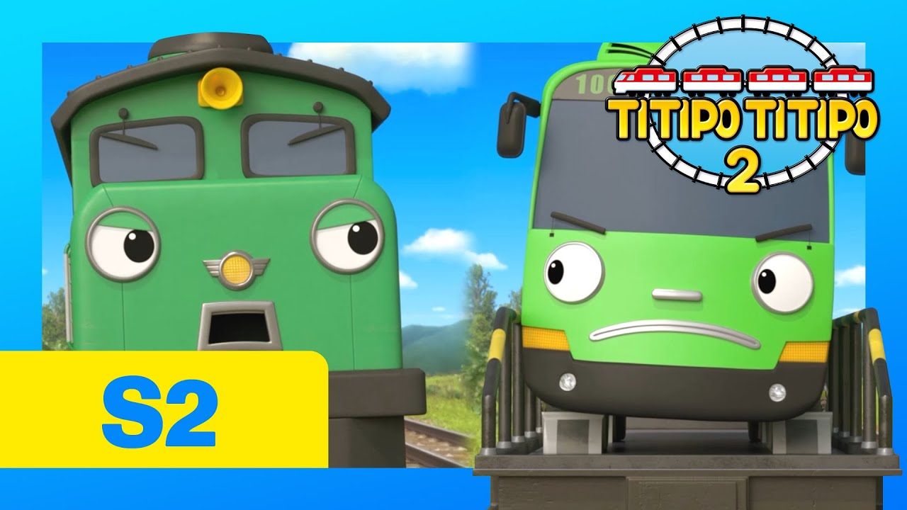 Download TITIPO S2 EP18 l Diesel and Rogi l Train Cartoons For Kids | TITIPO TITIPO 2