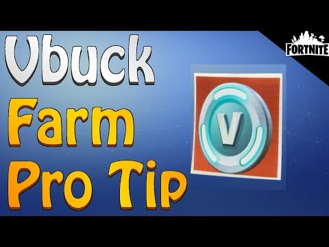FORTNITE - Vbuck Mission Farm Pro Tip (Every Possible Way To Earn Vbucks In Save The World PVE)