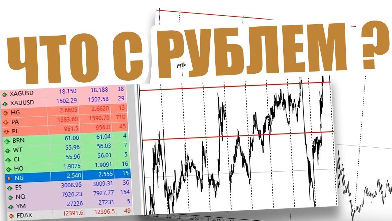 Посмотрели российский рубль. Торговые рекомендации с Александром Борских