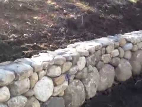 New England Field Stone Wall Youtube