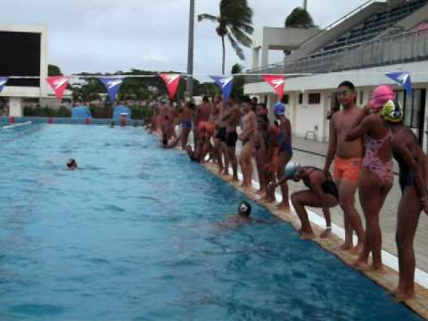Fundamental of Fast Swimming Fiji camp