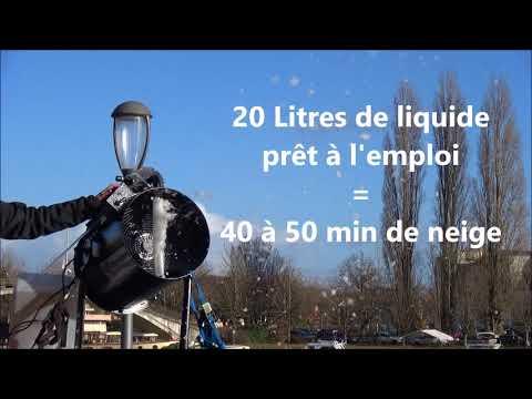 Machine a neige   dB Animation