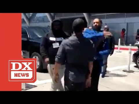 The Reason Why Nipsey Hussle Slapped The Soul Out Of BET Awards Security Guard
