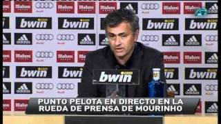 la rueda de prensa ms tensa de mourinho tras el real madrid fc barcelona en el santiago bernabu
