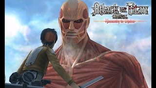 Citra Emulator (CPU JIT) | Attack on Titan: Humanity in Chains (eShop) *SLOW* [1080p] | Nintendo 3DS