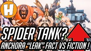 """Overwatch - Anchora, """"Spider Mech Leak"""" and Efi - MYTHBUSTED! 