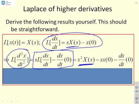 Laplace 3 - derivatives