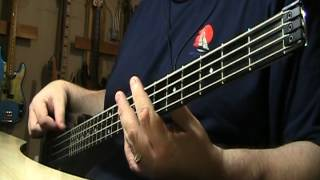 Chris Isaak Wicked Game Live Bass Cover