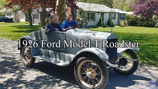 1926 Ford Model T Roadster Ride-along