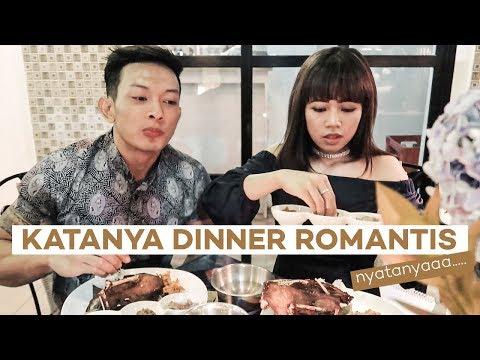 DINNER BERASA MUKBANG !!! KITA KAYA ORANG GA PERNAH MAKAN !!!